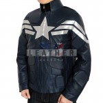 fashion leather jackets, Captain America The First Avenger Movie Leather Jacket ,  Captain America The First Avenger leather jacket,  movies leather jacket,  fashion leather jacket,  Captain America Steve Rogers Leather Jacket