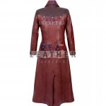fashion leather jackets, Devil May Cry 4 Leather Coat, Devil May Cry, Devil May Cry coat, long coat, genuine leaher coat, game leather coat, Dante long leather coat