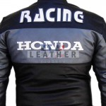 racer leather suits, Honda biker style leather suit,  spidi track leather suit,  motogp leather suit