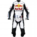 racer leather jackets, kawasaki Ninja Red bull Racing Leather Suit,   kawasaki Ninja leather suit,   kawasaki Ninja redbull leather suit,  leather suit