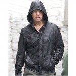 fashion leather jackets, Mission: Impossible 4 Ghost Protocol replica leather jacket,  Sam Tyler movies leather jacket,  movie replica jackets,  replica movie jackets,  film jackets,  movie jackets