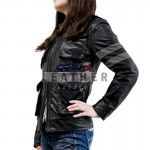 fashion leather jackets, Resident Evil 6 Ladies Leather Jacket, Resident Evil 6 costume, game leather jacket, resident evil 6 jacket ebay, resident evil 6 Ladies jacket review, resident evil 6 jacket for sale, Ladies leather jacket