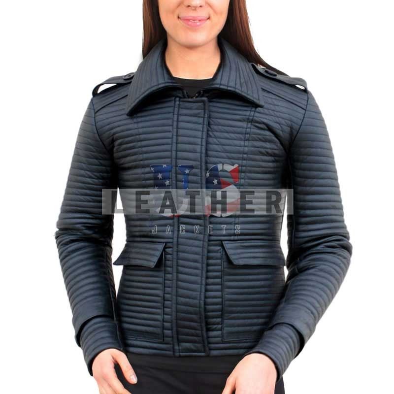Ladies Made to Measure Fashion Leather Jacket
