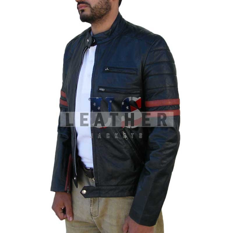 Xman Fashion Leather Jacket for Men | Movies jackets at Low price