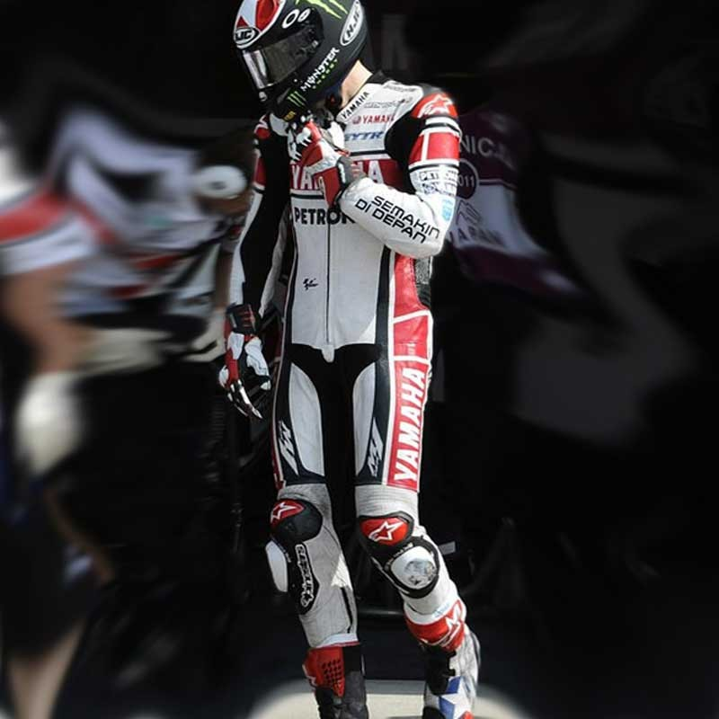 Yamaha Petronas Red Ben Spies Motorcycle Leather Suit   Custom Race Wear