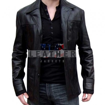 Life on Mars Sam Tyler Black Men Leather Jacket