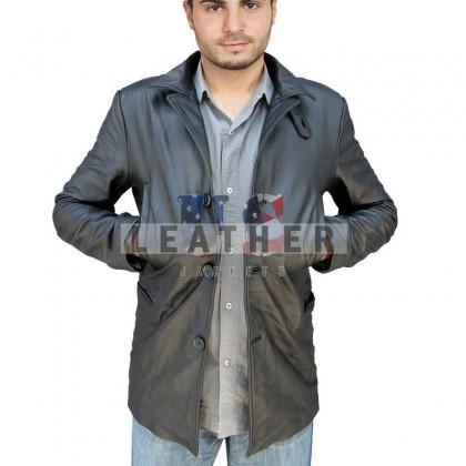 Max Payne Black Movie Men Custom Leather Jacket