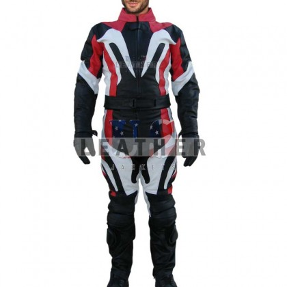 Strom Hump 2Pcs Racing Motorcycle Leather Suit
