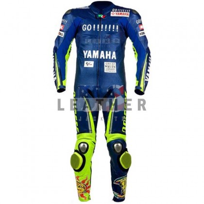 Valentino Rossi Yamaha 2005 Motorcycle Racing Leather Suit