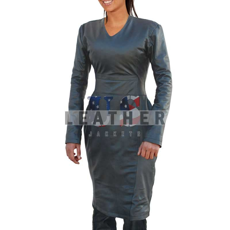 Ladies Custom leather jacket, latest fashion gown, ladies long coat, fashion leather coat, ladies fashion jackets