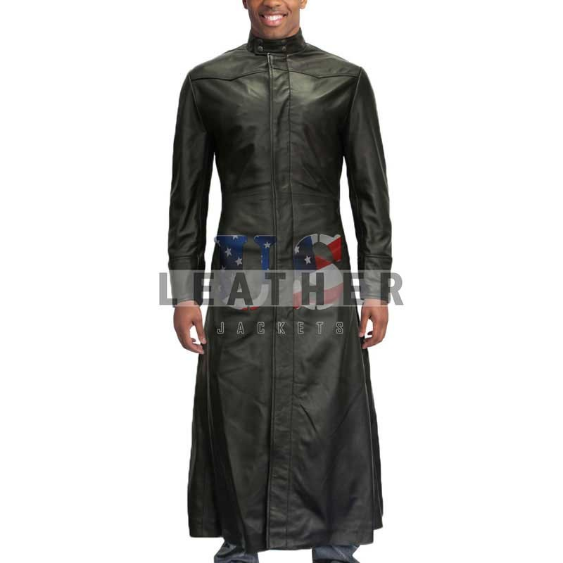 fashion leather jackets, The Matrix Genuine Leather Coat ,  Matrix Genuine Leather Coat ,  Genuine Leather Coat,  Fashion coat,  long coat,  stylish leather coat