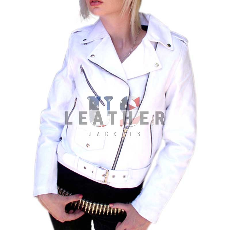 Ladies White racing made to Measure leather jacket, black leather jackets for women, black leather jacket for women, ladies leather coats, leather jacket women, ladies black leather jacket, red leather jackets for women, Custom leather jacket women