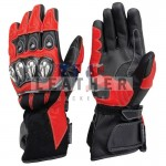 biker leather gloves, motorcycle leather gloves