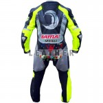 Motorcycle leather jackets, Valentino Rossi VR-46 2013 Motorcycle Racing Leather Suit, Valentino Rossi VR-46 2013, Valentino Rossi 2013 suit, genuine leather suit