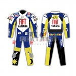 rossi 2007 yamaha suit, fiat Yamaha suit, motorcycle Men Leather Suit, motorbike motogp leather suit