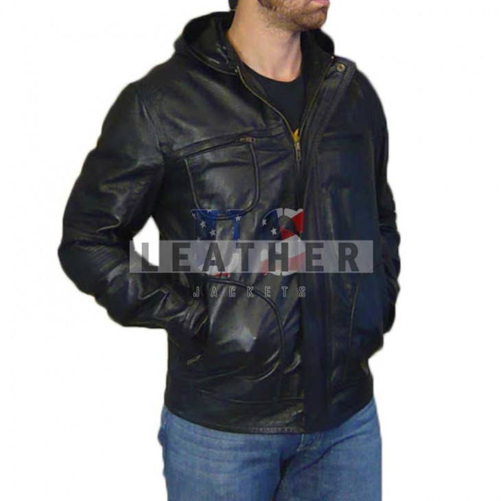 Mission: Impossible 4 Ghost Protocol replica leather jacket