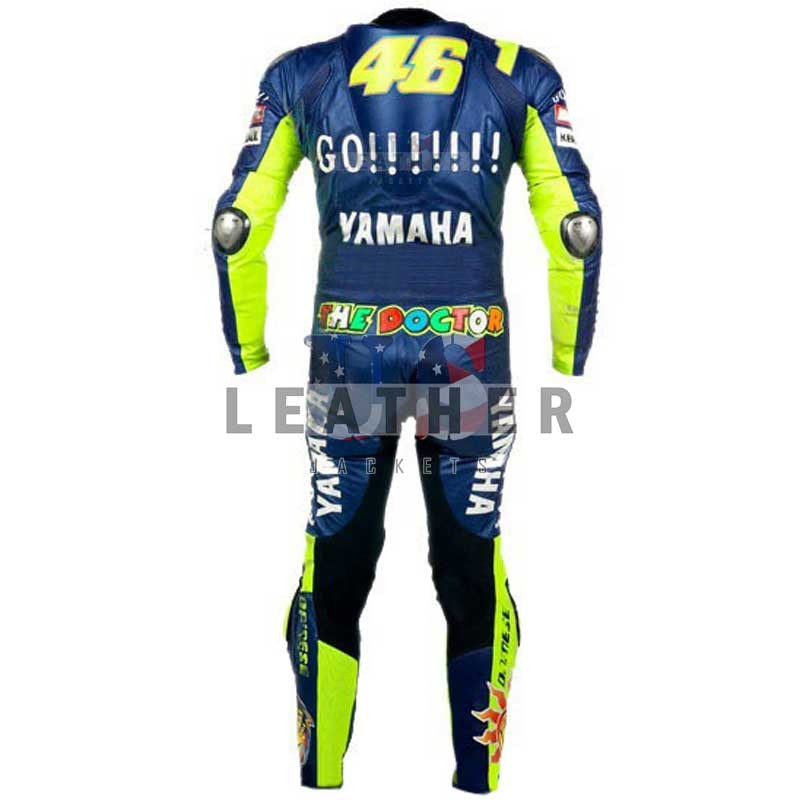 Valentino Rossi Yamaha Go 46 Racing Leather Suit