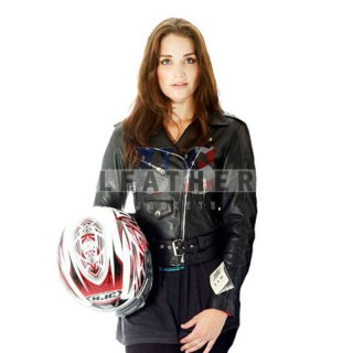 The Runaways Movie Ladies Custom Leather Jacket