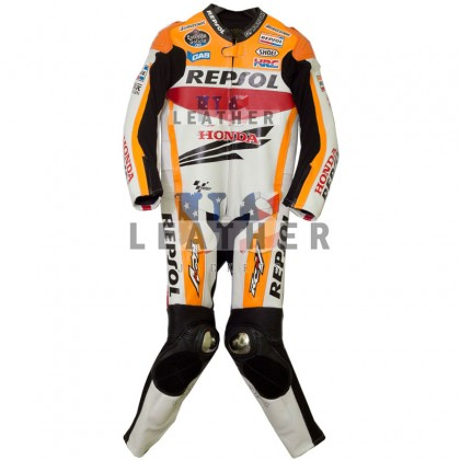 Marc Marquez 2013 Repsol Racing Motorcycle Leather Suit