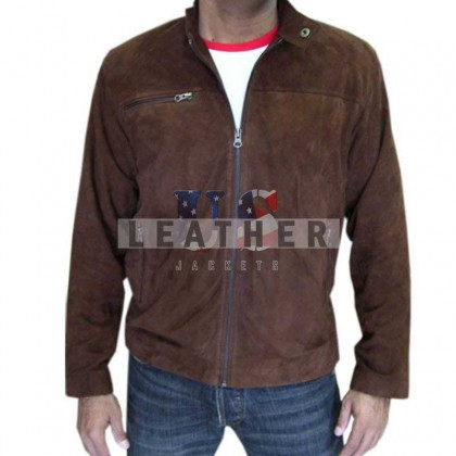 Mission Impossible 3 Tom Cruise Suede Leather Jacket
