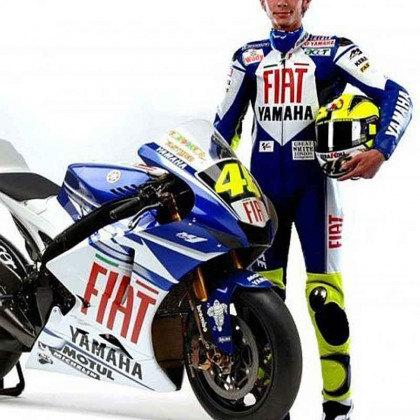 Yamaha Fiat Valentino Rossi MotoGP 2007 Leather Suit