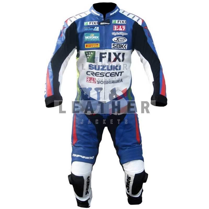 racer leather jackets, Fixi Suzuki Yoshimura 1 piece Motorcycle Racing Leather Suit,  Suzuki leon camier leather suit,  yoshimura Leather suit,  yoshimura racing suit,  yoshimura suzuki leather suit,  Motogp racing suit 2012,  SBK Motogp replica suit